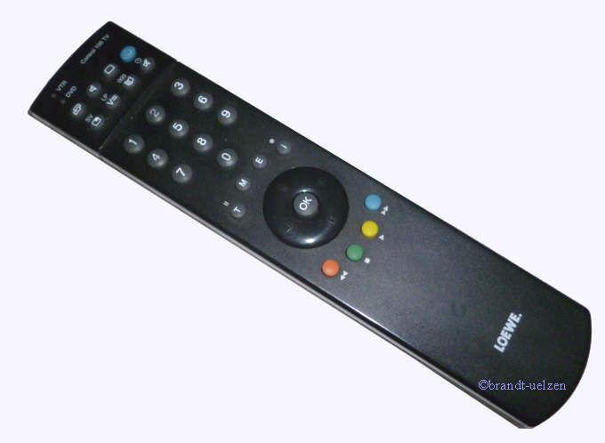 original fernbedienung loewe control 100 tv mit rechnung. Black Bedroom Furniture Sets. Home Design Ideas