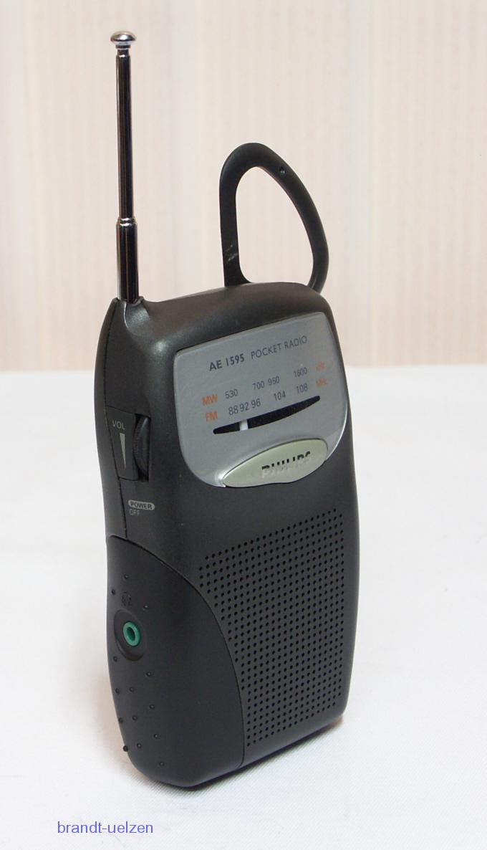 kleines taschenradio am fm radio philips ae1595 mit. Black Bedroom Furniture Sets. Home Design Ideas
